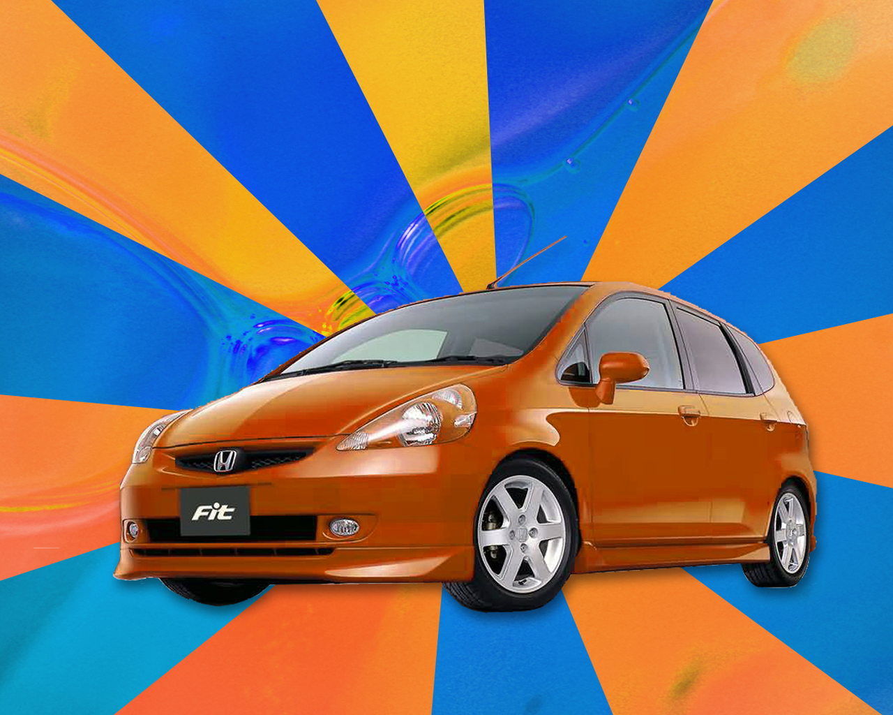 Honda fit jazz wallpaper4
