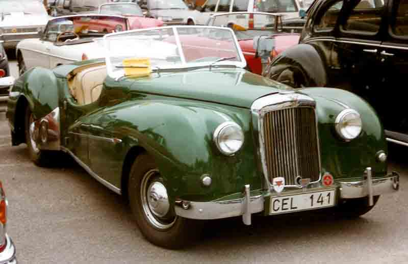 Alvis TB 21 Sports Roadster 1952-1-