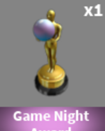 Roblox Game Night - Game Night Award Case Clicker Roblox Wiki Fandom