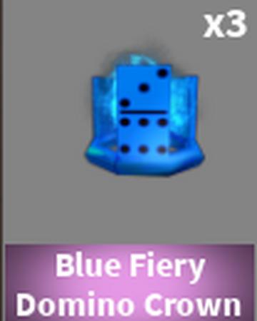 Blue Fiery Domino Crown Case Clicker Roblox Wiki Fandom
