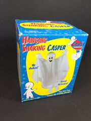 Gemmy CASPER Friendly Ghost Musical Theme Hanging 31'' Halloween Decoration