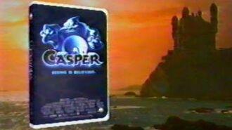 1995, CASPER VHS VIDEOCASSETTE, television commercial