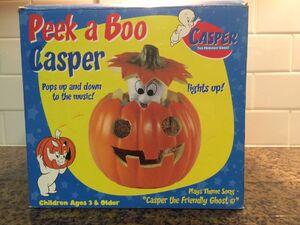 Gemmy 1998 Animated Peek A Boo Casper RARE