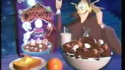 Count Chocula Ad- Casper (1997)