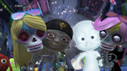 Casper and Ra with Monaco and Mickey