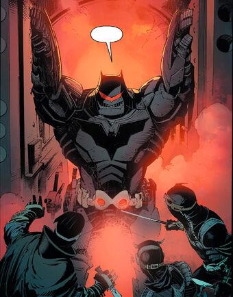 Thrasher Armor Batman