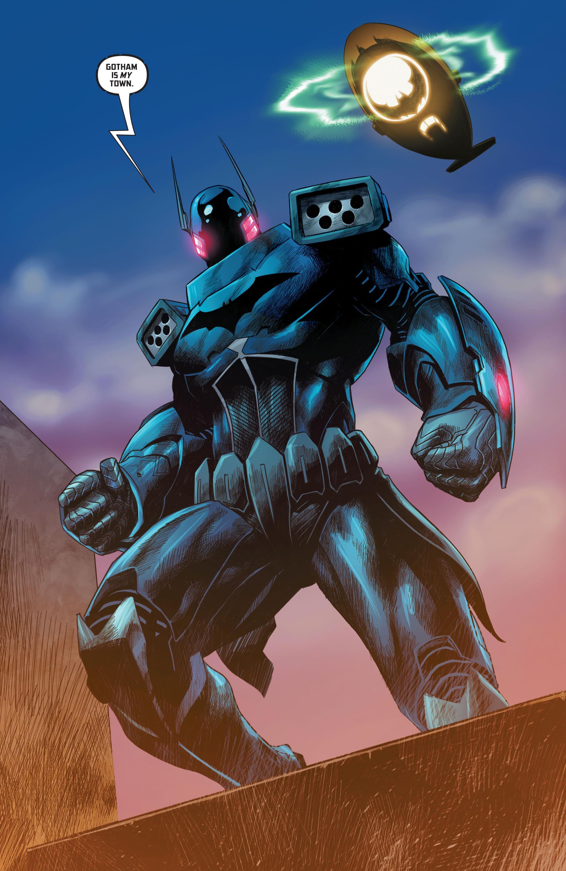 Project Batman Exo-suit   Cass Cain Mainframe Wiki ...