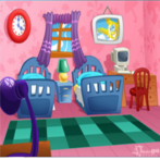 Boo and pebbles room