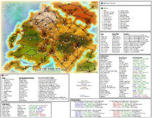 Castaway 2 Cheat Map