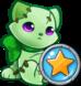 Alive Green Plushie