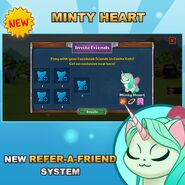 Minty Heart New System Official Image