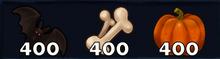 400 Halloween Materials