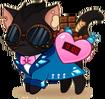 Molotov Valentine Outfit