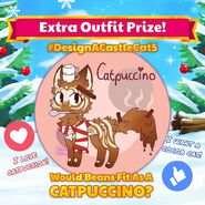 Beans Purrismas Catpuccino Outfit Teaser