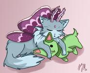 Lumoz and Stitch