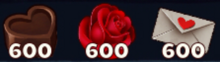 600 Valentines Materials