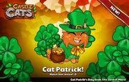 Cat Patrick Official Image 2017