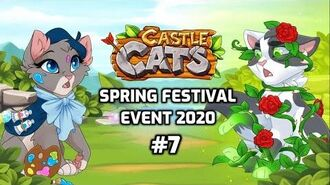 Castle Cats- Spring Festival Event 2020 (Event Story 7- Rose Bloom) ft. Purcilla-1
