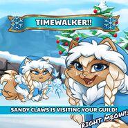 Sandy Claws Timewalker