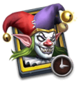 Evil Clown Trial Card