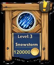 Snowstorm level 3