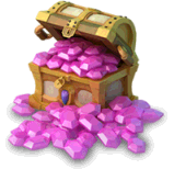 Mountain of gems