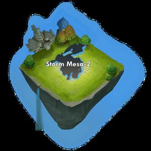 Storm mesa 2 entrance