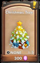 Shop christmas tree 2