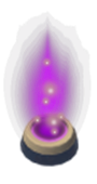 Purple garrison icon