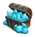 Blue Crystal Box L
