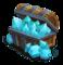 Blue Crystal Box L