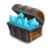 Blue Crystal Box S