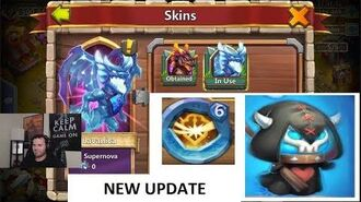 Castle Clash New Update Lavanica Skin New Talent Destiny-2