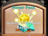 Honor Badges