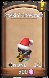 Shop rockin snowman