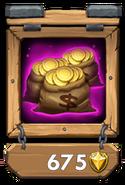 Gold Pack III framed