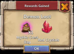 Demon loot
