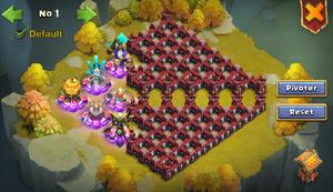 WG base arrangement