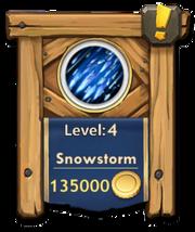 Snowstorm level 4