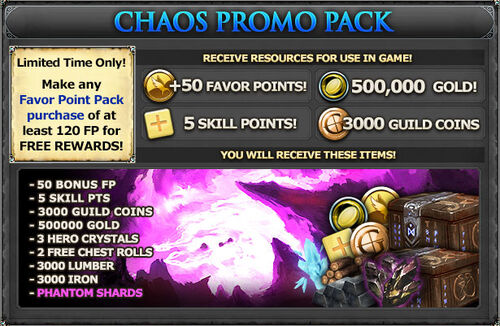 Fb chaos popup