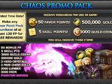Oracle Promo Packs