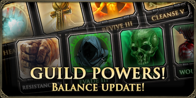 Guild Powers News