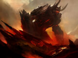 Magmos, the Lava Giant