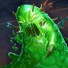 Soldier oozing slime