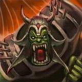 Hero orc king boss