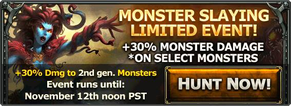 Monster slaying ad