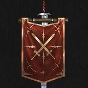 Guild symbol banner 8 left