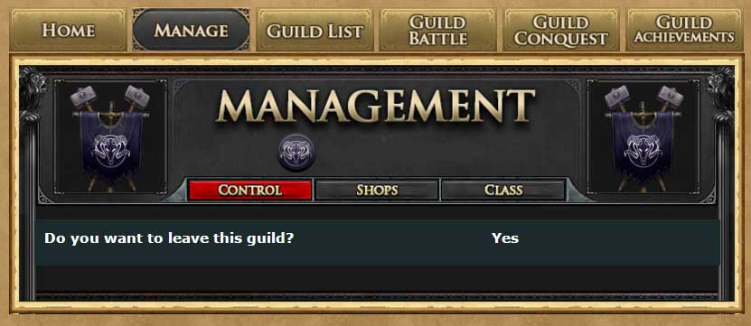 Guild-Manage