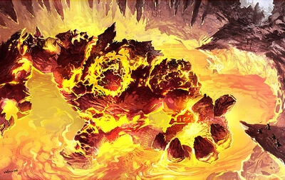 Gehenna The Fire Elemental Boss