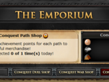 Conquest Path Shop